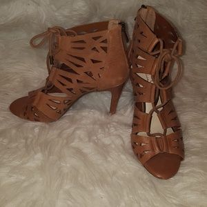 Jessica Simpson leather Brown sandals